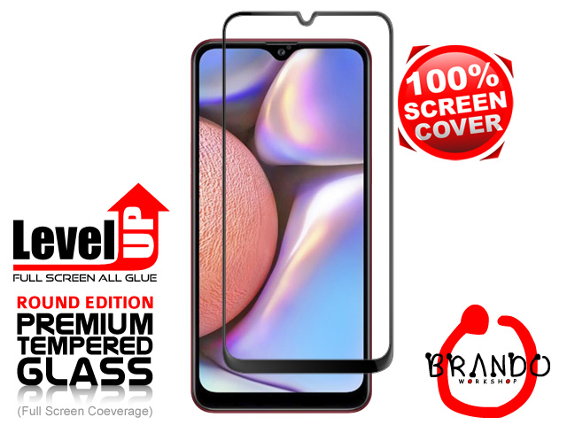 Brando Workshop Full Screen Coverage Glass Protector (Samsung Galaxy A10s) - Black