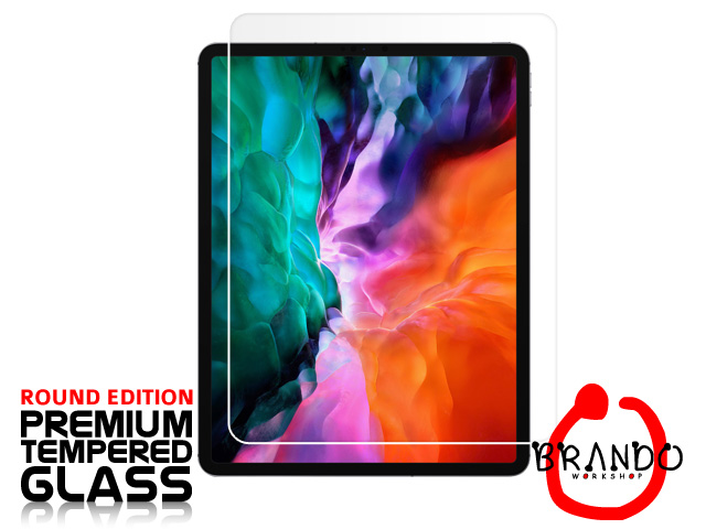Brando Workshop Premium Tempered Glass Protector (Rounded Edition) (iPad Pro 12.9 (2020))