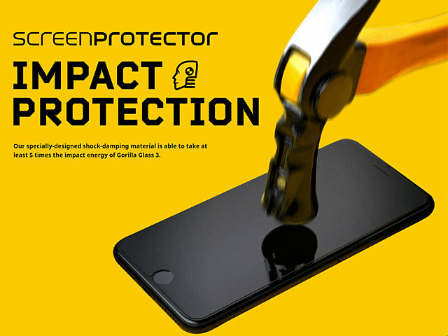 RhinoShield Impact Resistant Screen Protector for iPhone 8