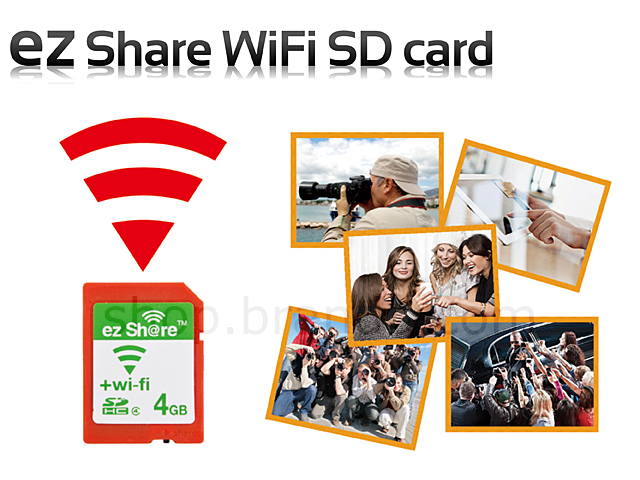 ez Share WiFi SD card