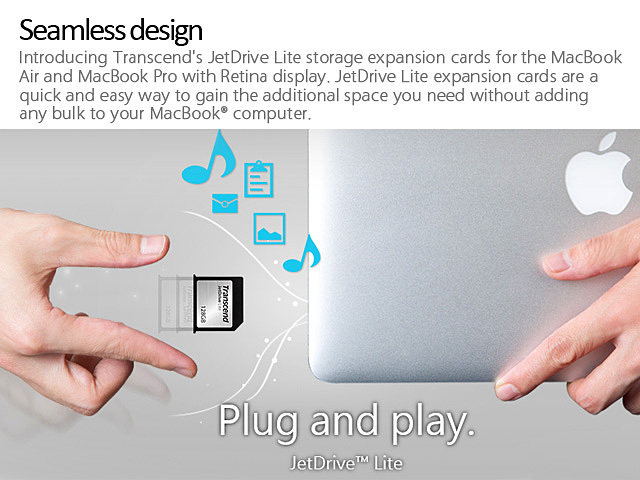 Transcend JetDrive Lite 350 Storage Expansion Card