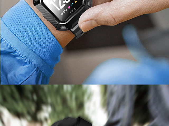 Supcase Unicorn Beetle Pro Wristband Case for Fitbit Versa