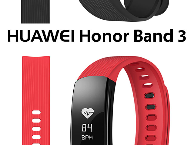 Huawei Honor Band 3 Silicone Watch Band