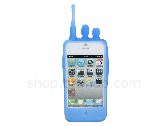 iPhone 4/4S Walkie Talkie Silicone Case