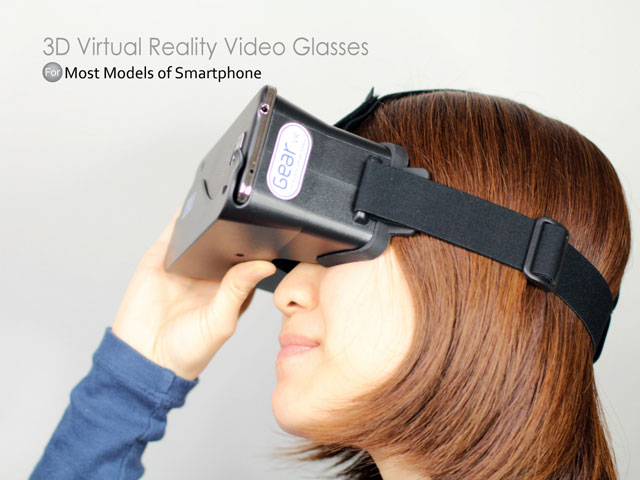 3D Virtual Reality Video Glasses