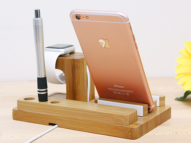 3-in-1 Bamboo Stand