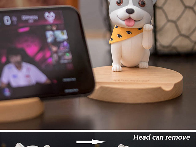 The Doggy Smartphone Stand
