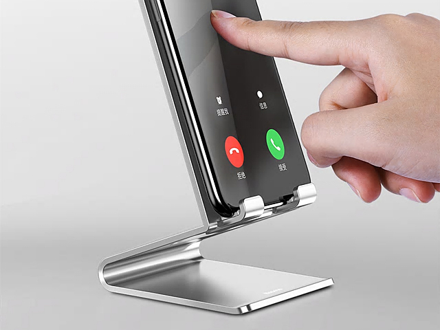 Smart Aluminum Smartphone Holder Stand