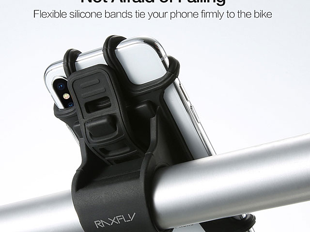Silicone Bicycle Smartphone Holder