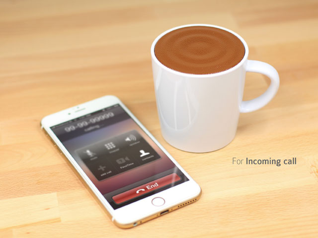 Coffee Cup Bluetooth Speaker