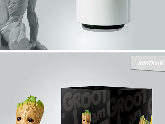 infoThink Guardian of the Galaxy Vol. 2 - Groot Bluetooth Speaker