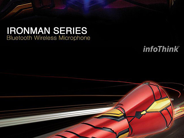 infoThink Iron Man Bluetooth Wireless Microphone
