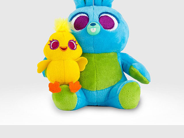 infoThink Toy Story 4 Series Plush Doll Bluetooth Speaker - Ducky & Bunny
