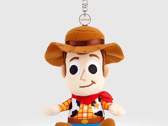 infoThink Toy Story 4 Series Plush Doll Bluetooth Speaker - Woody