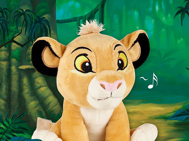 infoThink The Lion King Series Plush Doll Bluetooth Speaker - Simba