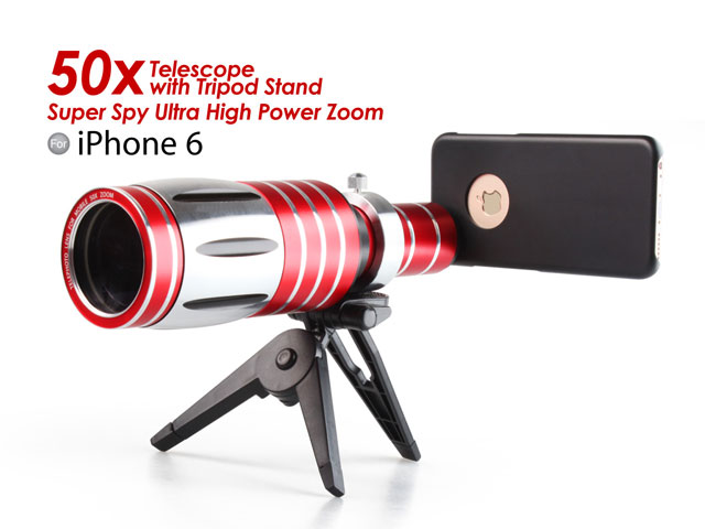 Iphone s super spy ultra high power zoom telescope with