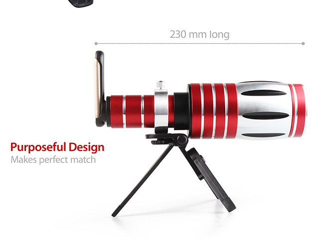 Samsung Galaxy S6 Super Spy Ultra High Power Zoom 50X Telescope with Tripod Stand