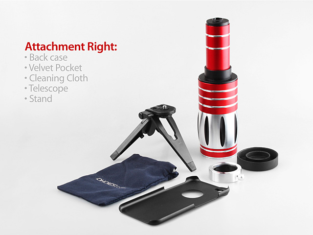 iPhone 8 Plus Super Spy Ultra High Power Zoom 50X Telescope with Tripod Stand