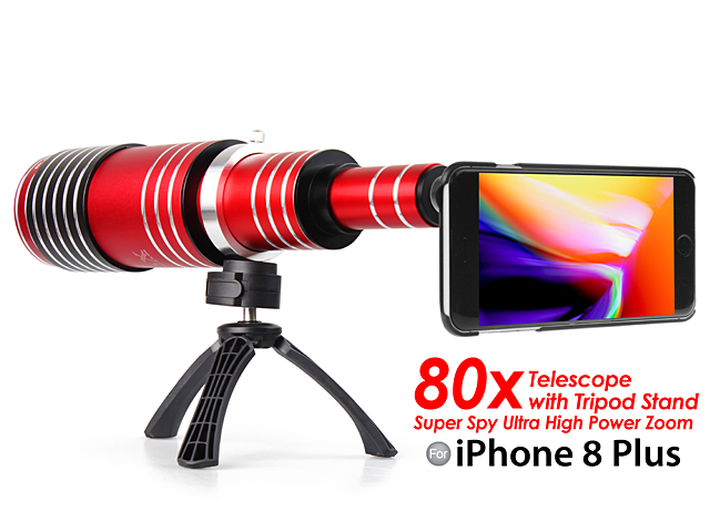 release date: e7dfa 5838d iPhone 8 Plus Super Spy Ultra High Power Zoom 80X Telescope with ...
