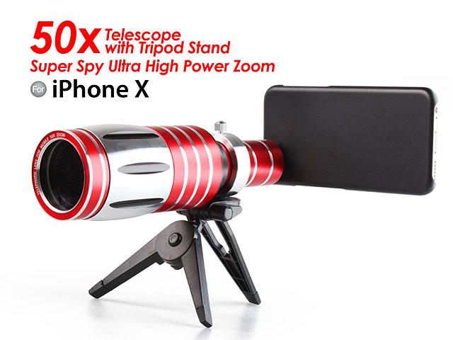sale retailer 9d2cc deef1 iPhone X Super Spy Ultra High Power Zoom 50X Telescope with ...