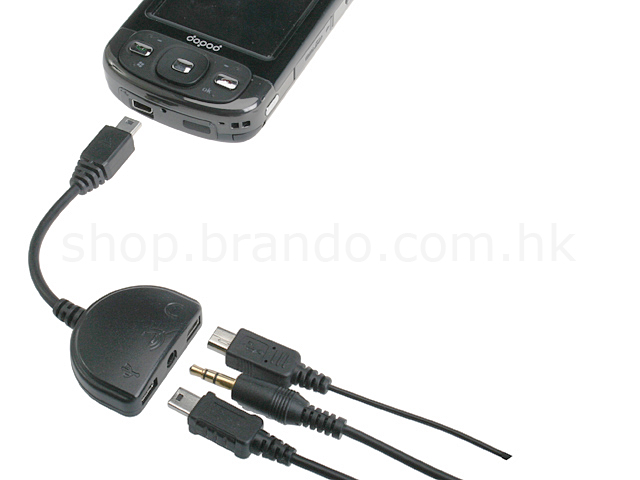 HTC 3-in-1 USB Adapter