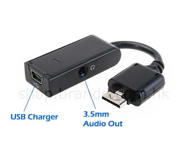 LG KP500 / KU990 Port Audio and Charger Adapter