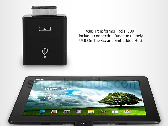 Asus Transformer Pad TF300T USB On-To-Go Adapter