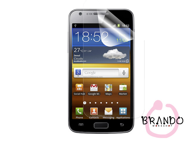 Brando Workshop Ultra-Clear Screen Protector (Samsung Galaxy S II LTE GT-I9210)