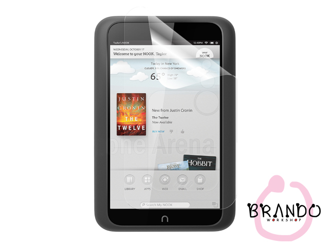 "Brando Workshop Ultra-Clear Screen Protector (Barnes & Noble NOOK HD 7"")"