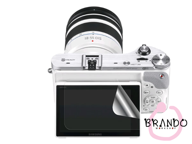 Brando Workshop Ultra-Clear Screen Protector (Samsung Smart Camera NX300)