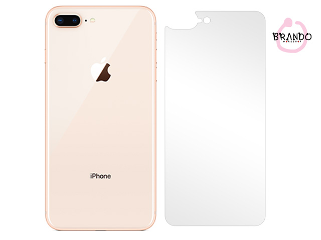 Brando Workshop Ultra-Clear Screen Protector (iPhone 8 Plus - Back Cover)