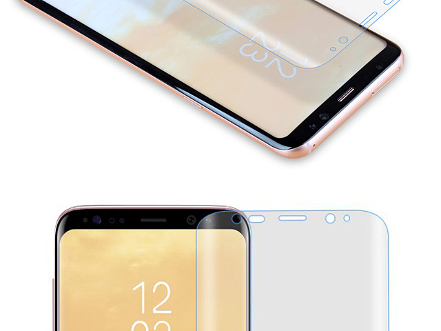 Momax Curved Screen PRO+ HD Crystal Clear Protector (Samsung Galaxy S8+)