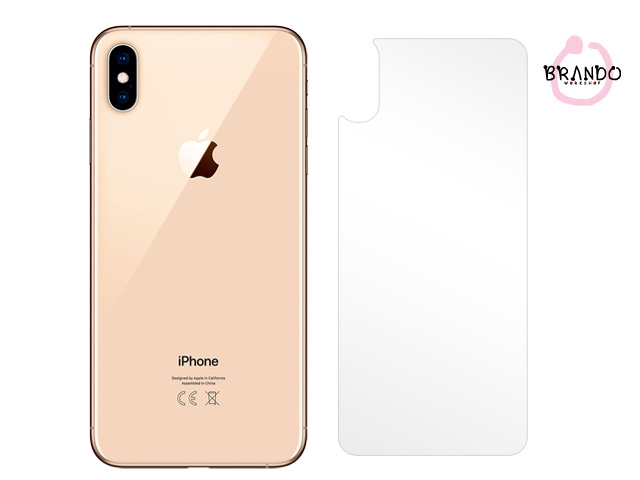 Brando Workshop Ultra-Clear Screen Protector (iPhone XS Max (6.5) - Back Cover)
