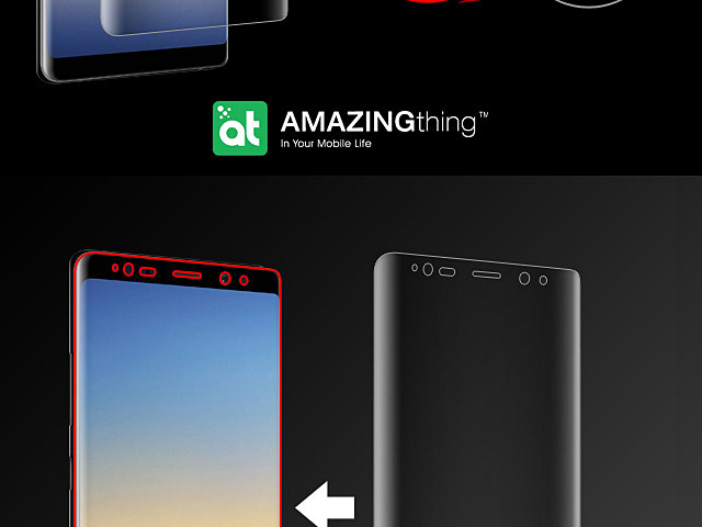 AMAZINGthing Curved Ultra-Clear Screen Protector (Samsung Galaxy Note8)