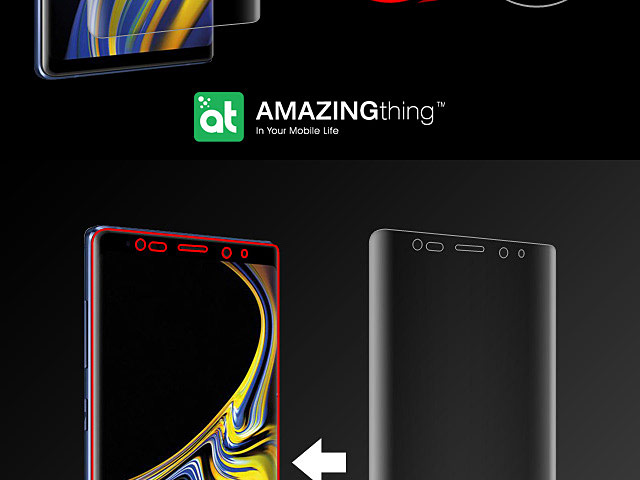 AMAZINGthing Curved Ultra-Clear Screen Protector (Samsung Galaxy Note9)