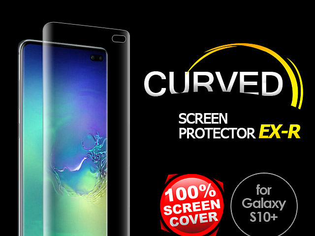 AMAZINGthing Curved Ultra-Clear Screen Protector (Samsung Galaxy S10+)