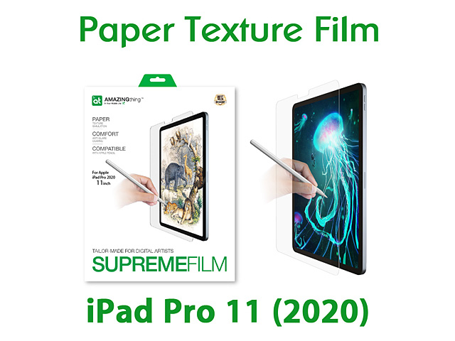 Amazingthing Supremefilm Paperlike Screen Protector for iPad Pro 11 (2020)