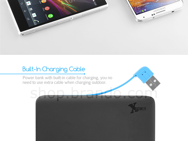X power Portable Power 6000mAh (Micro USB Edition)