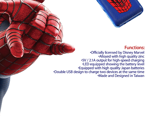 InfoThink The Amazing Spider-Man 2 Power Bank 6000mAh