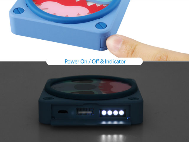 The Glowing Light Power Bank - 5000mAh