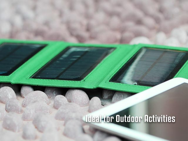 Folding Solar Storage Power 8000mAh