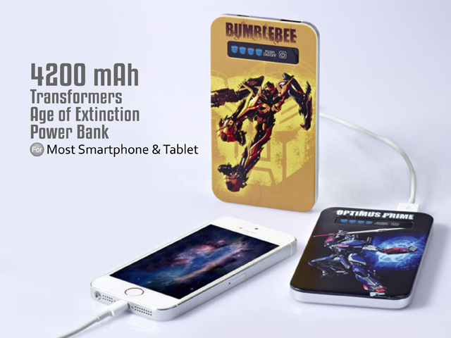 infoThink Transformers Age of Extinction Power Bank - 4200mAh