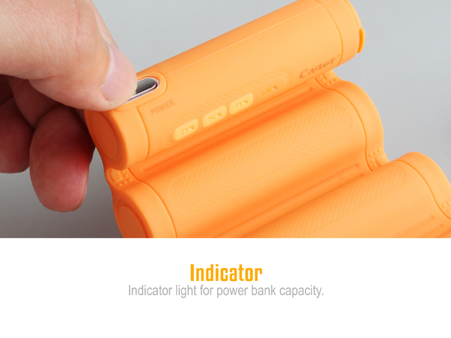 Carger Folding Charger Power Bank - 10400mAh