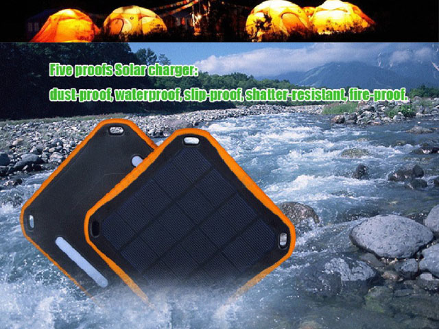 Five-Anti Solar Power Bank 5600mAh