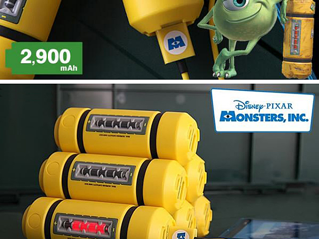 Disney Monsters Inc Energy Tank Power Bank 2900mah