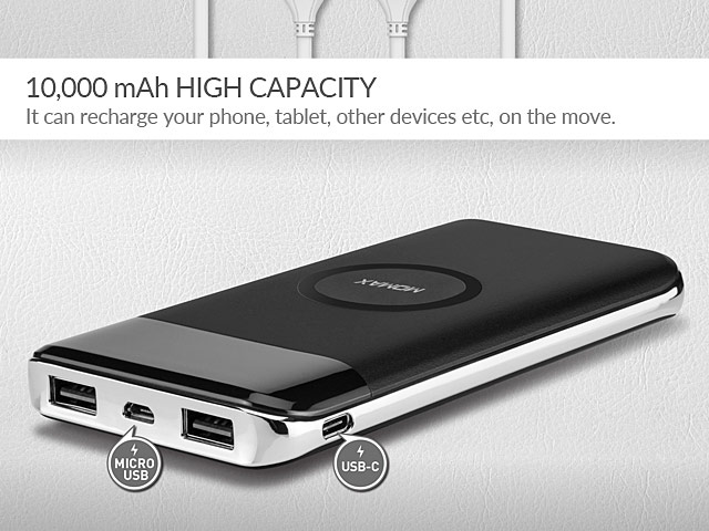 Momax iPower Air Wireless Power Bank (10000mAh)
