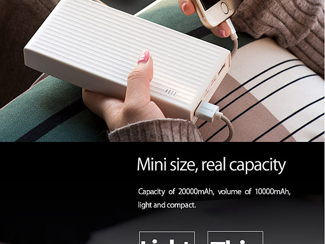 20000mAh Quick Charge Power Bank
