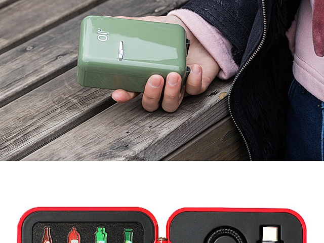 Mini Fridge Power Bank - 12000mAh