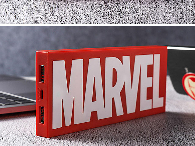 Marvel Logo Power Bank - 10000mAh
