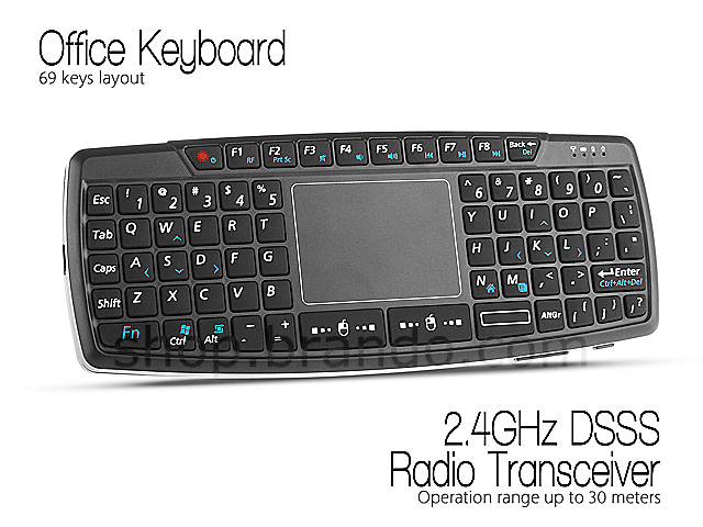 Wireless Keyboard with Touchpad (KB-168)